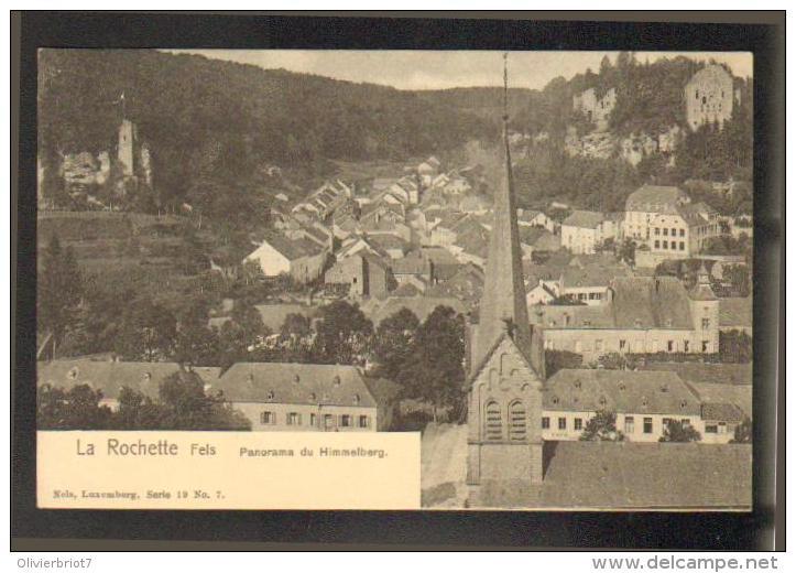 Luxembourg - La Rochette Fels - Nels Série 19 N° 7 - Panorama Du Himmelberg - Larochette