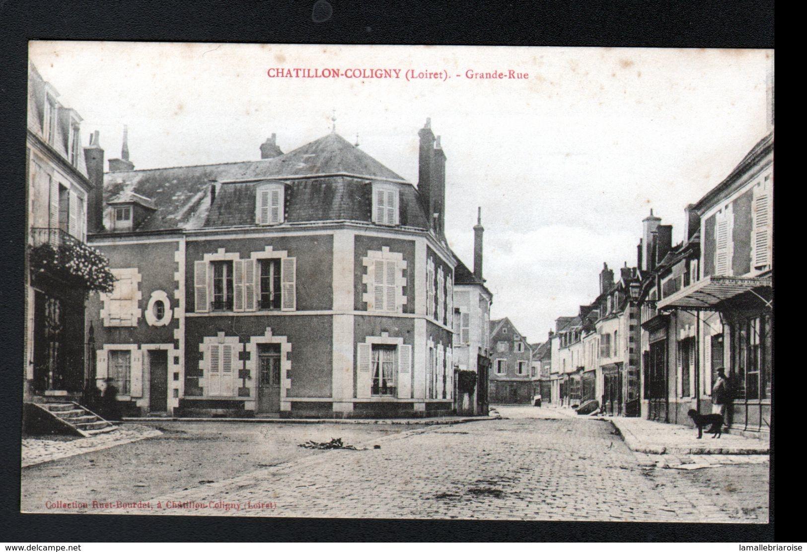 45, Chatillon Coloigny, Grande Rue - Chatillon Coligny