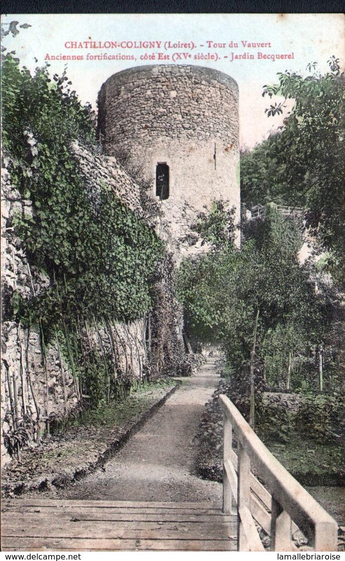 45, Chatillon Coloigny, Tour De Vauvert - Chatillon Coligny