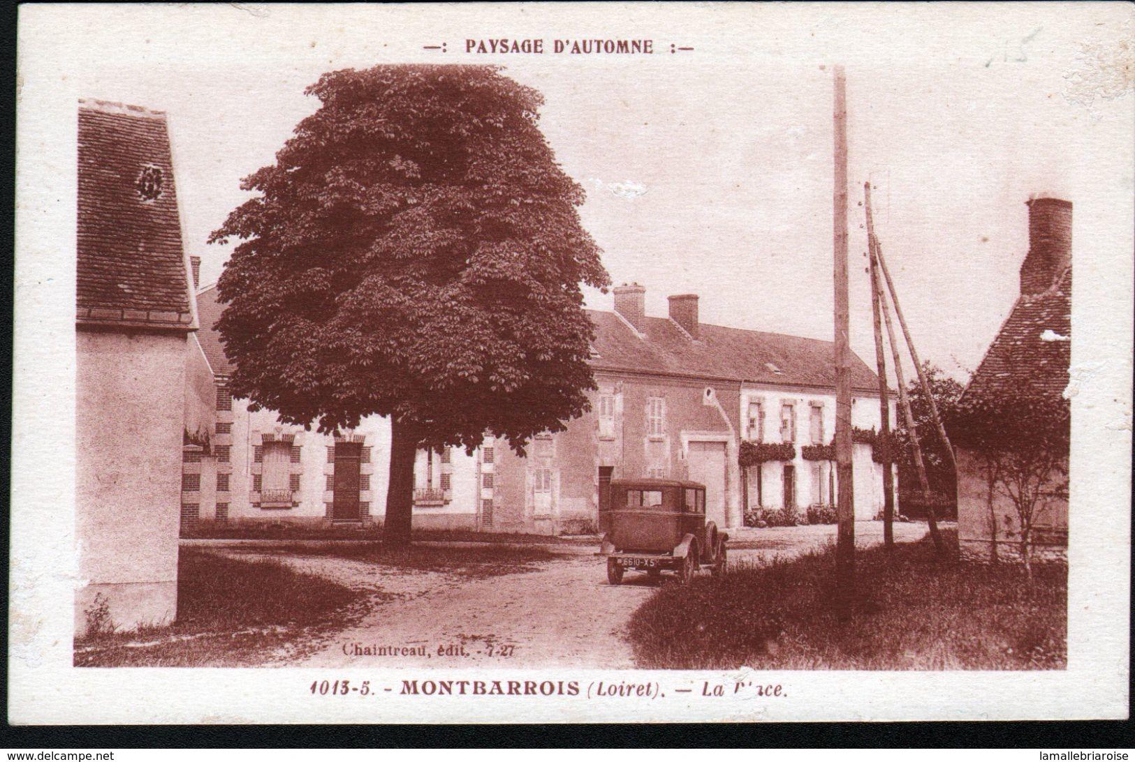 45, Montbarrois, La Place ( Automobile) - Chatillon Coligny