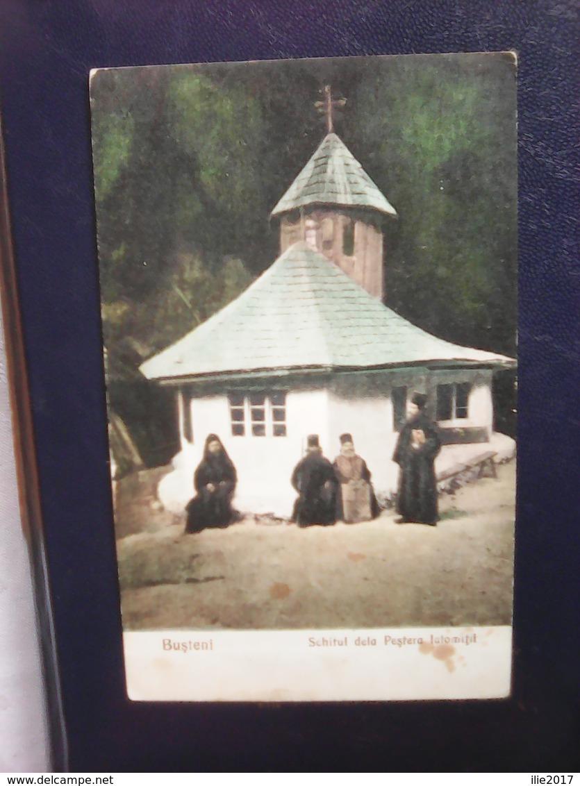 Unused Postcard From Romania, Bușteni, Schitul De La Peștera Ialomiței - Roemenië