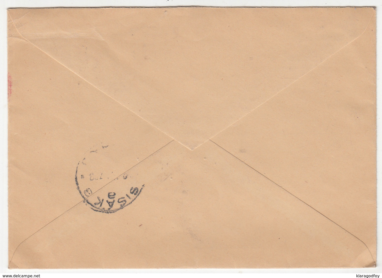 Yugoslavia,  United Nations Technical Assistance Board Letter Cover Travelled 1957 Beograd To Sisak B180220 - Covers & Documents
