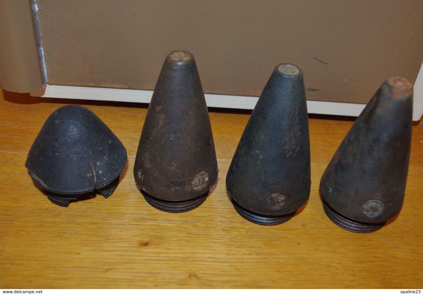 RARE 3 FUSEES ALLEMANDE AZ23 WW2 A VOIR 1939/1945 - 1939-45
