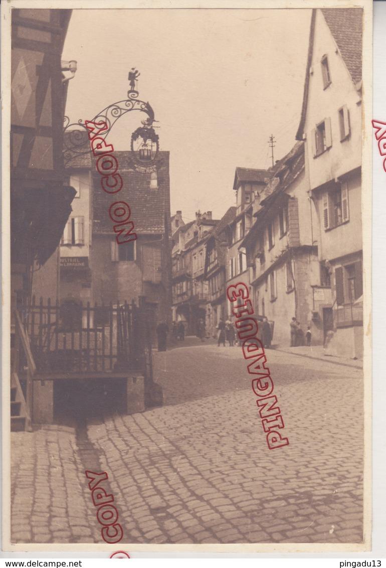 Au Plus Rapide Colmar Rue 15 Par 23 Cm - Lieux