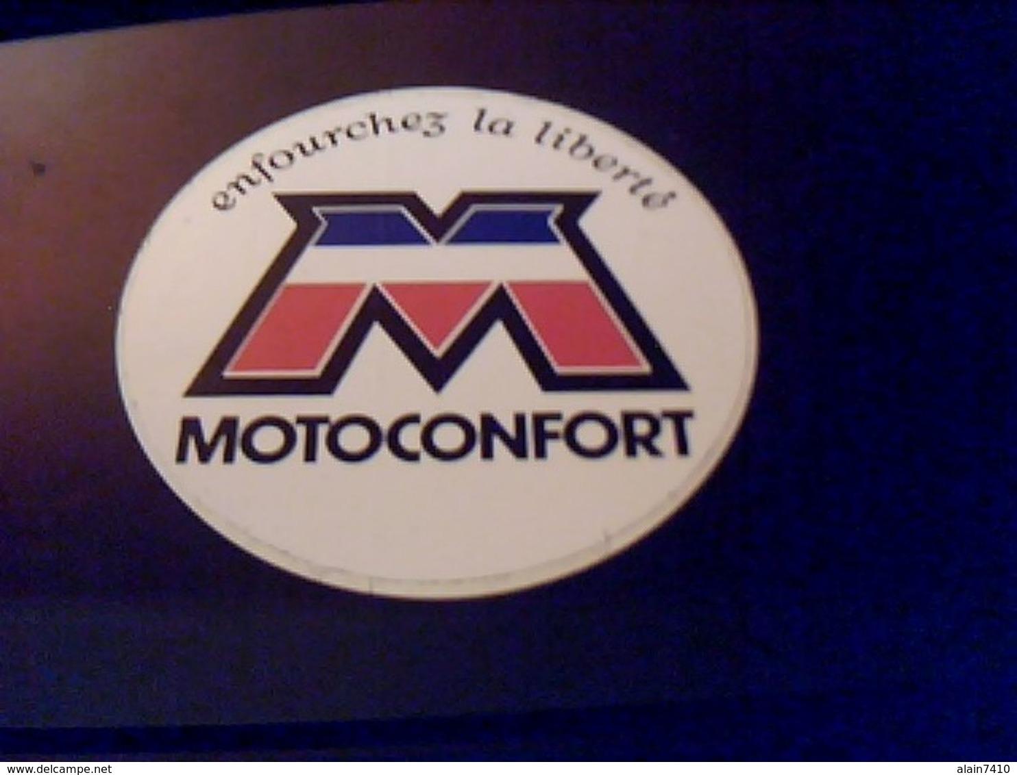 Autocollant Ancien Publicitaire  MOBYLETTE  Motoconfort - Autocollants