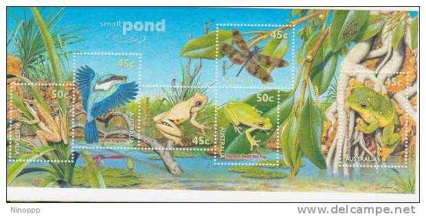 Australia 1999  Small Ponds   Miniature Sheet MNH - 1990-99 Elizabeth II