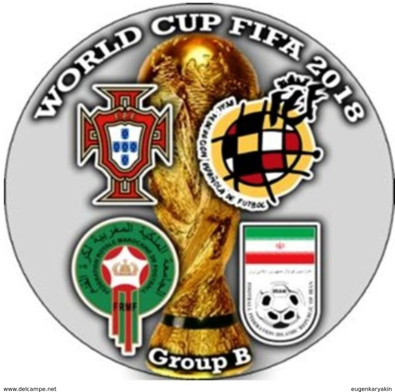 Pin FIFA 2018 Group B Portugal Spain Morocco Iran - Fussball