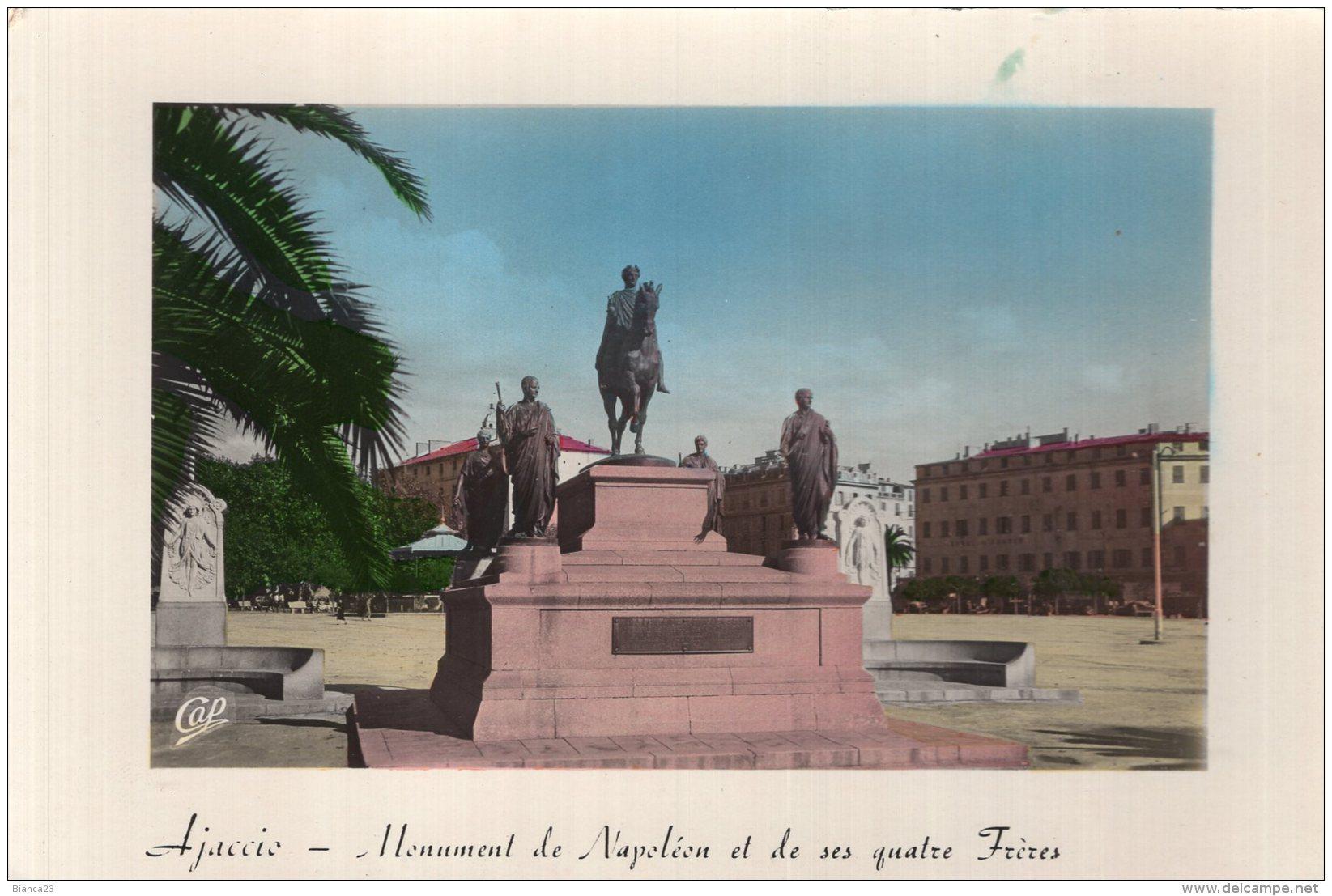 B48777 Ajaccio, Monument De Napoléon - France