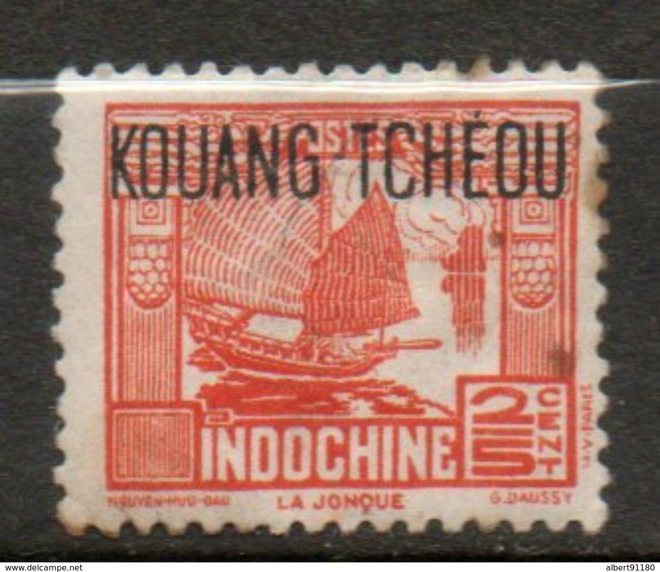 KOUANG- TCHEOU 2/5c Rouge 1937 N° 99 - Unused Stamps