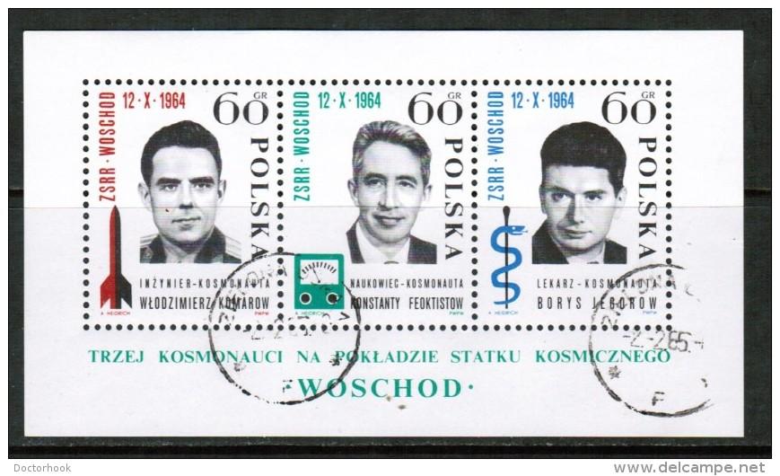 POLAND  Scott # 1278 VF USED Souvenir Sheet SS-32 - Blocks & Sheetlets & Panes