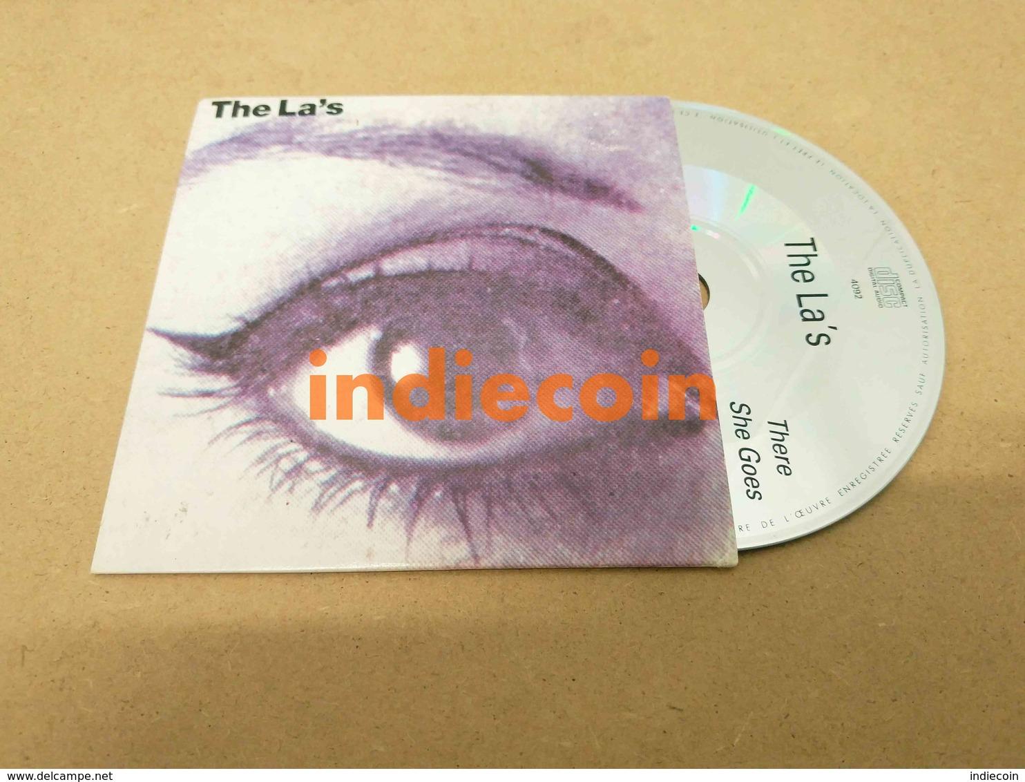 LA'S There She Goes 1991 FRANCE CD LP Promo 4 Titres Live AuxTransMusicales De Rennes Cardsleeve - Music & Instruments