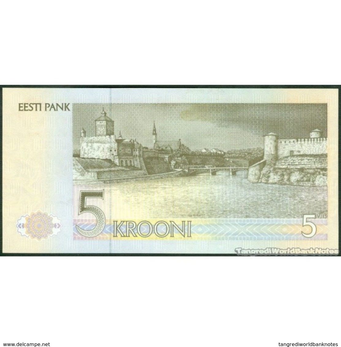 TWN - ESTONIA 71b - 5 Krooni 1992 Prefix BM UNC - Estonia