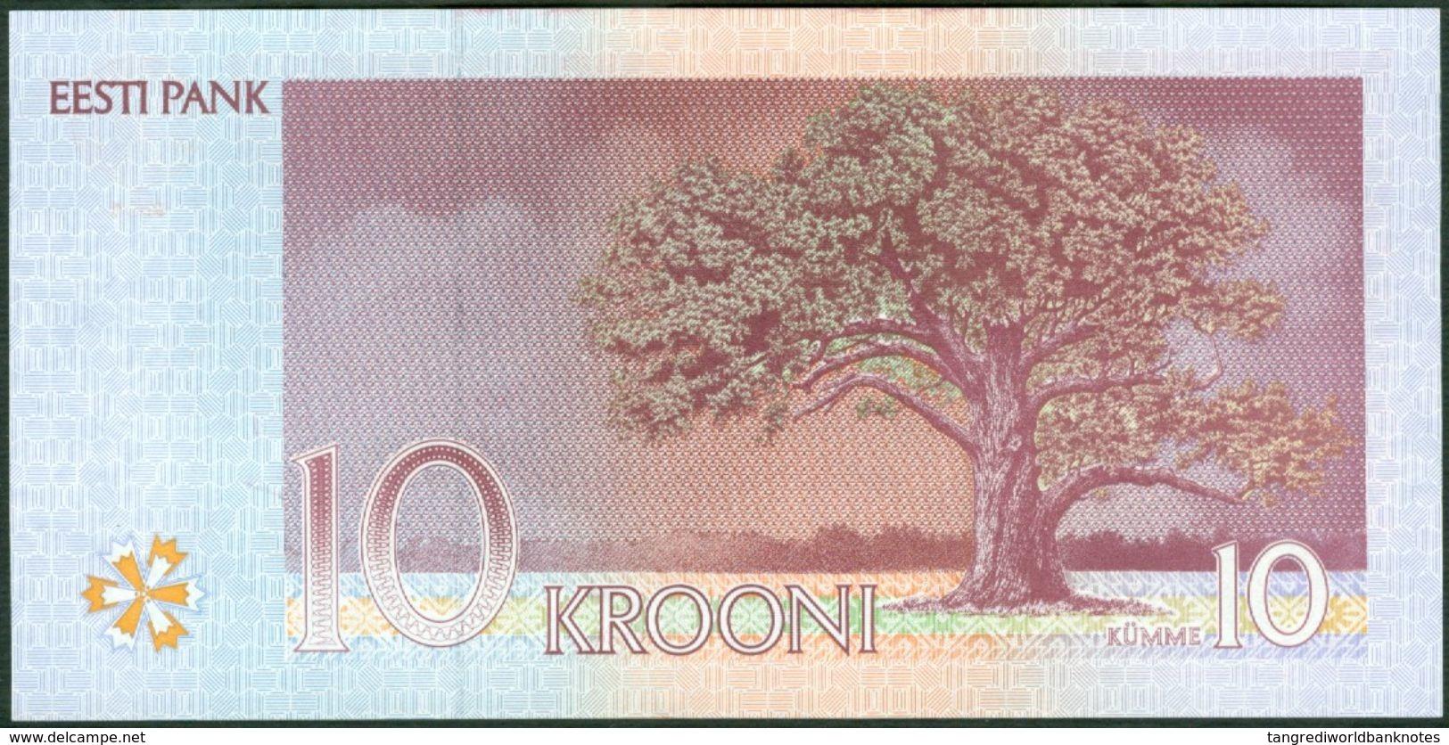 TWN - ESTONIA 77a - 10 Krooni 1994 Prefix BN UNC - Estonia