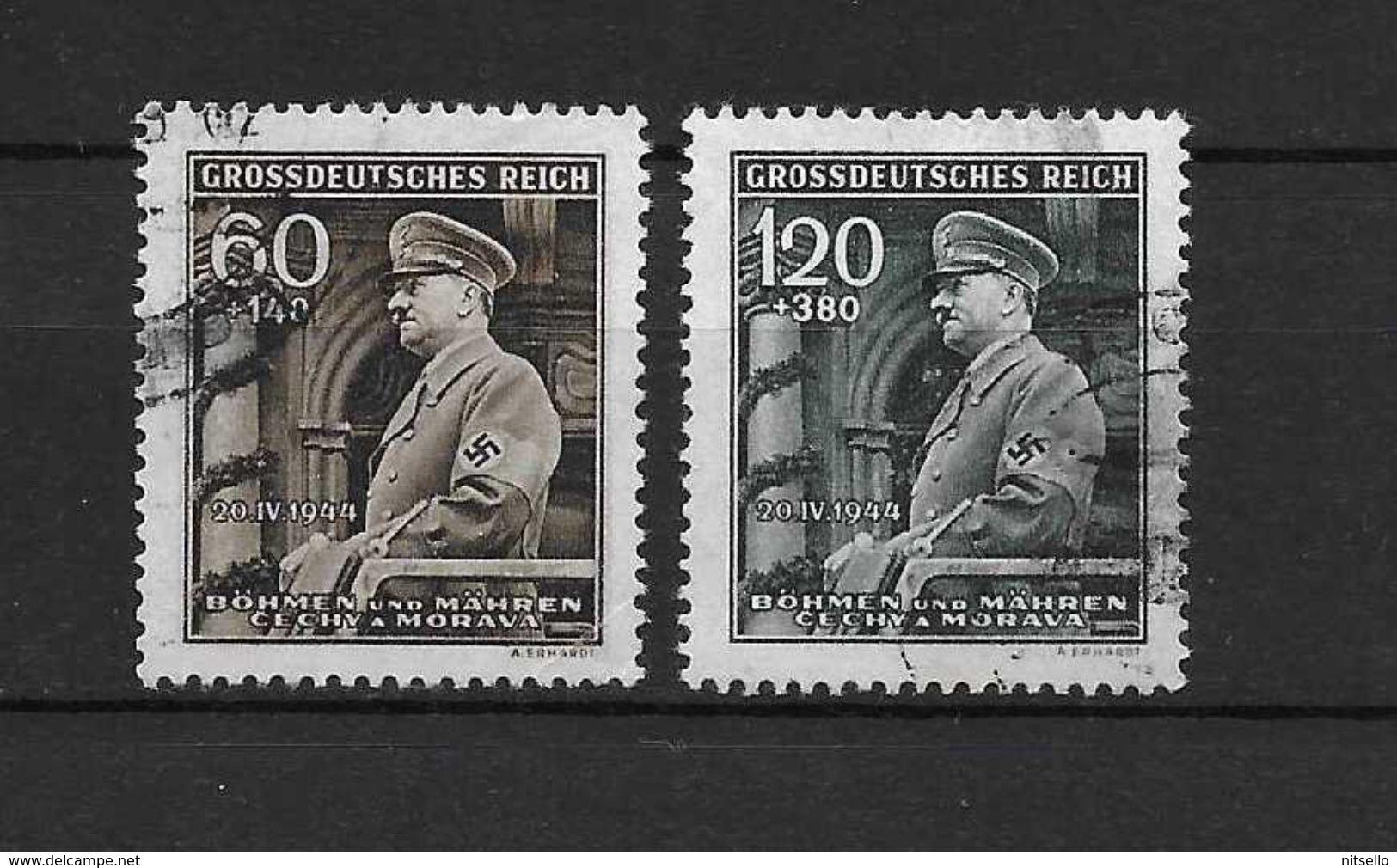 LOTE 1663  ///  BOHEMIA Y MORAVIA   YVERT Nº:  115/116 - Unused Stamps