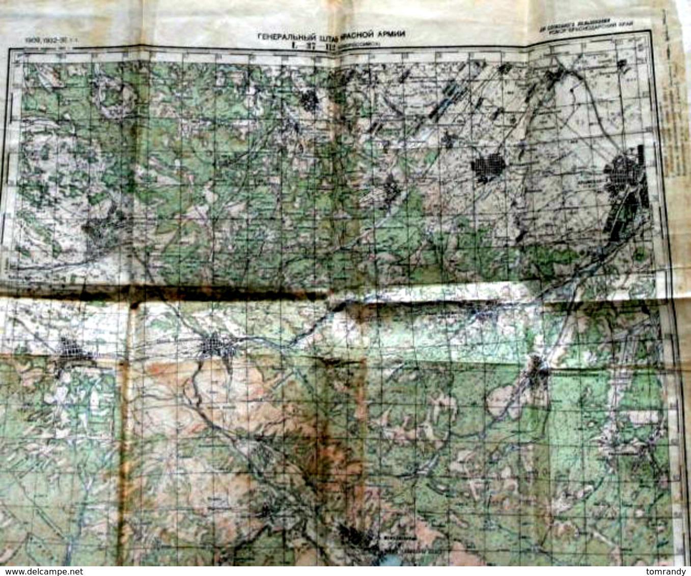 Kriegsschauplatz Russland 1942. Noworossijsk - Historische Dokumente