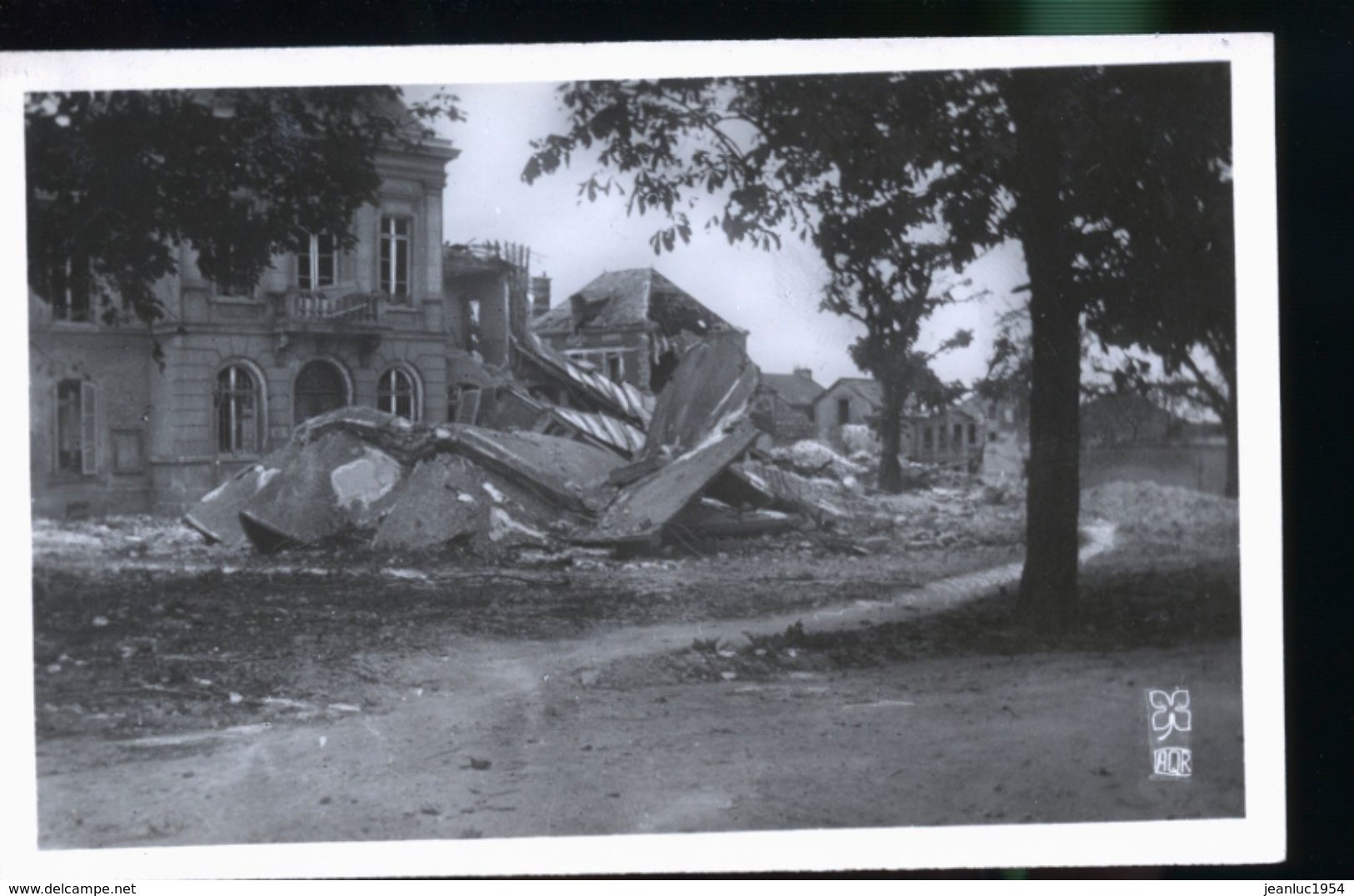 RILLY LA MONTAGNE DESTRUCTION 1944 - Rilly-la-Montagne