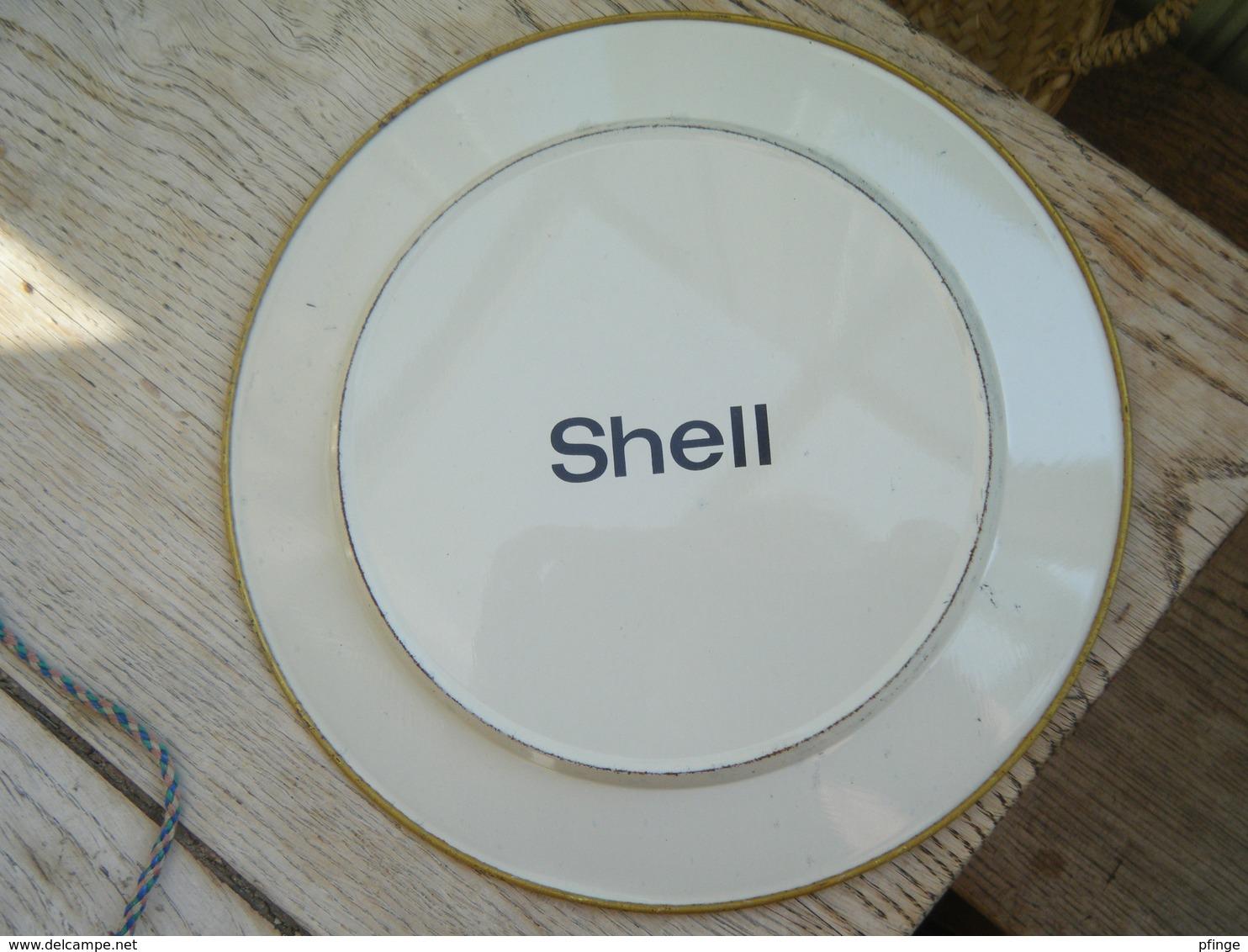 Assiette SHELL - Panhard & Levassor - Plates
