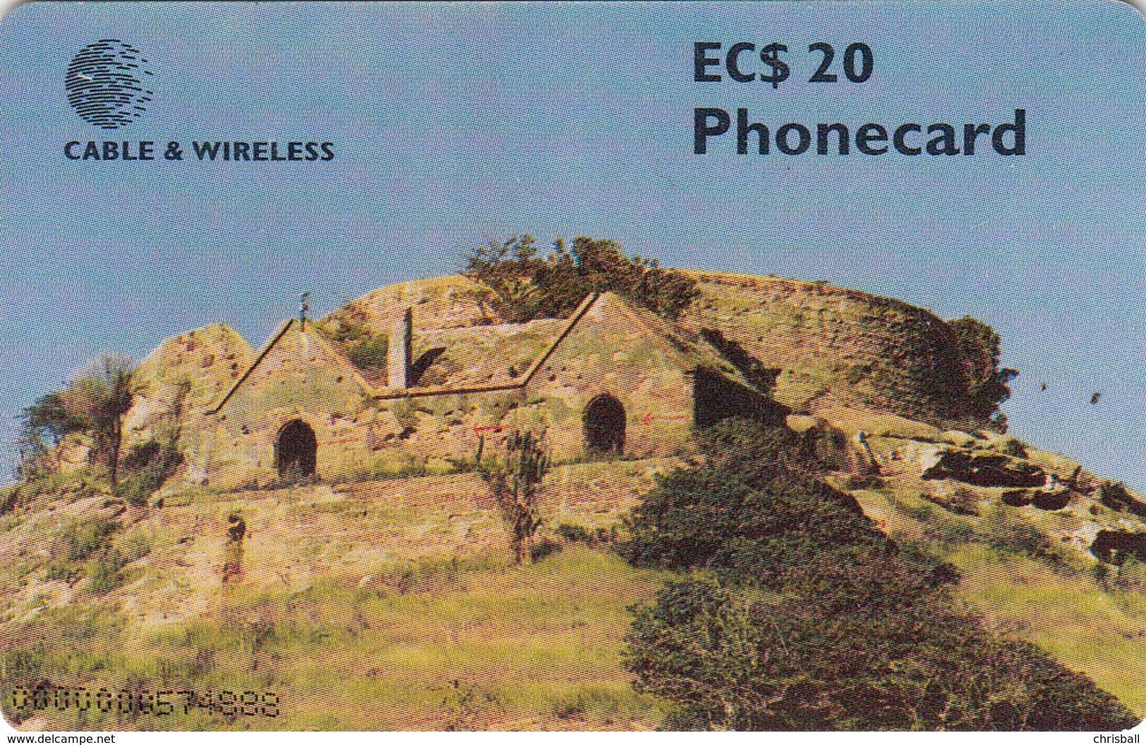 Antigua & Barbuda Phonecard - Chip Card (Fine Used) - Antigua And Barbuda