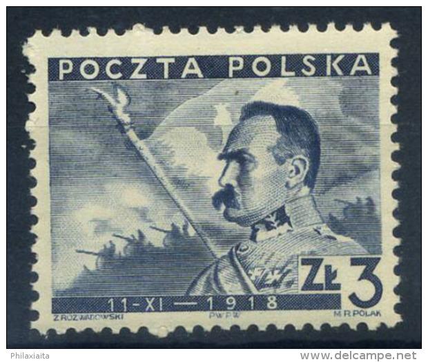 Polonia 1938 Mi. 343 Nuovo ** 100% 3 Zt, Repubblica Di Polonia - Unused Stamps