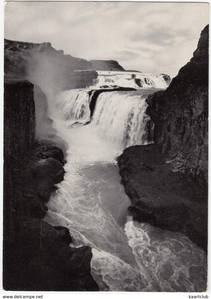 Gullfoss: The Golden Waterfalls - (Iceland) - 1970 - IJsland