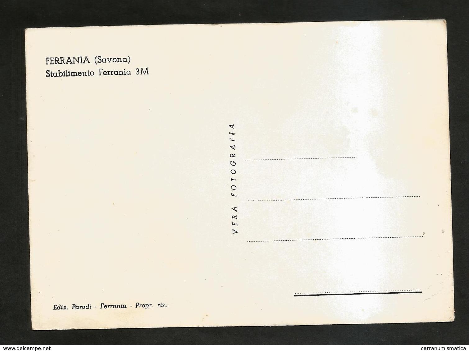FERRANIA  -( SAVONA )- Stabilimento FERRANIA ( NUOVA ) - Savona