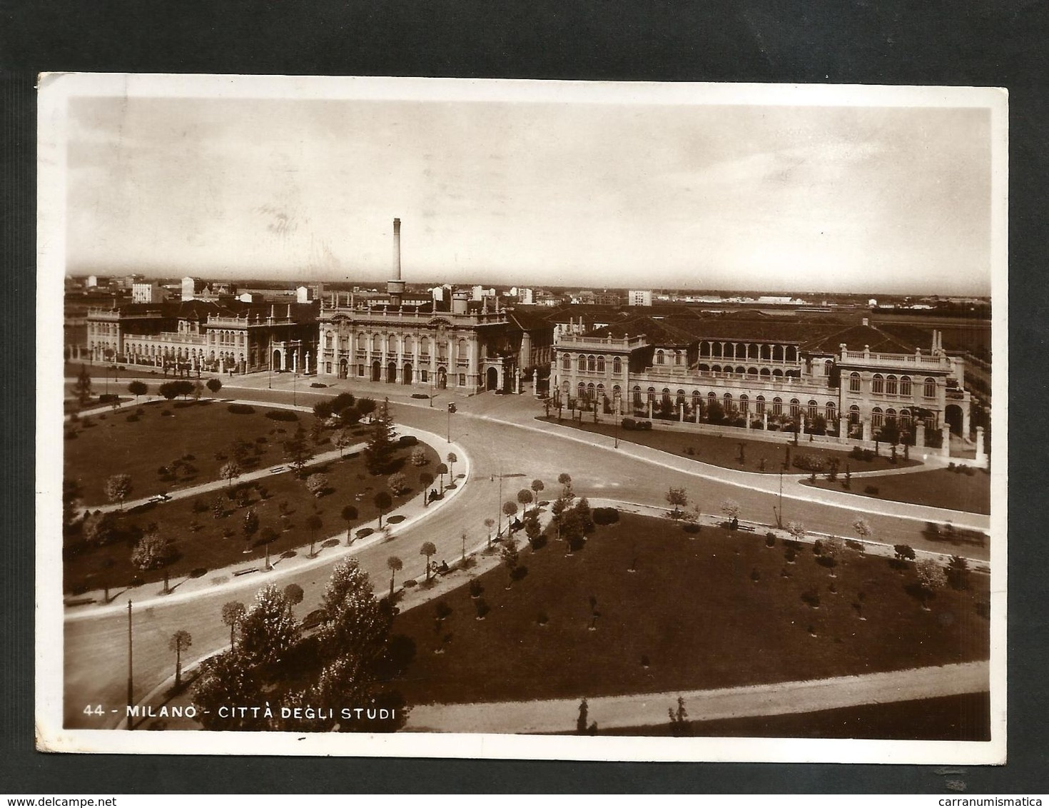 MILANO - Città Degli STUDI ( Spedita Nel 1939 ) - Milano
