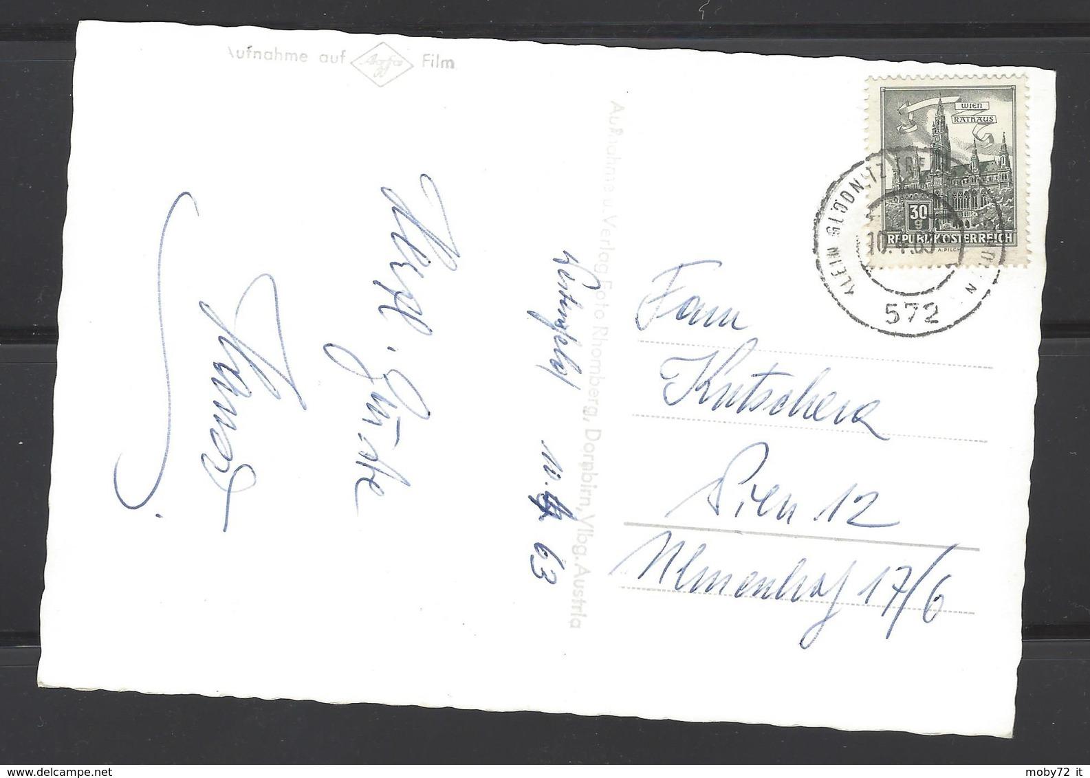 Austria - 1963 - Bahnpost 572 - Turkenbrunnen In Weltensfeld Im Gurktal Karnten - 1961-70 Brieven