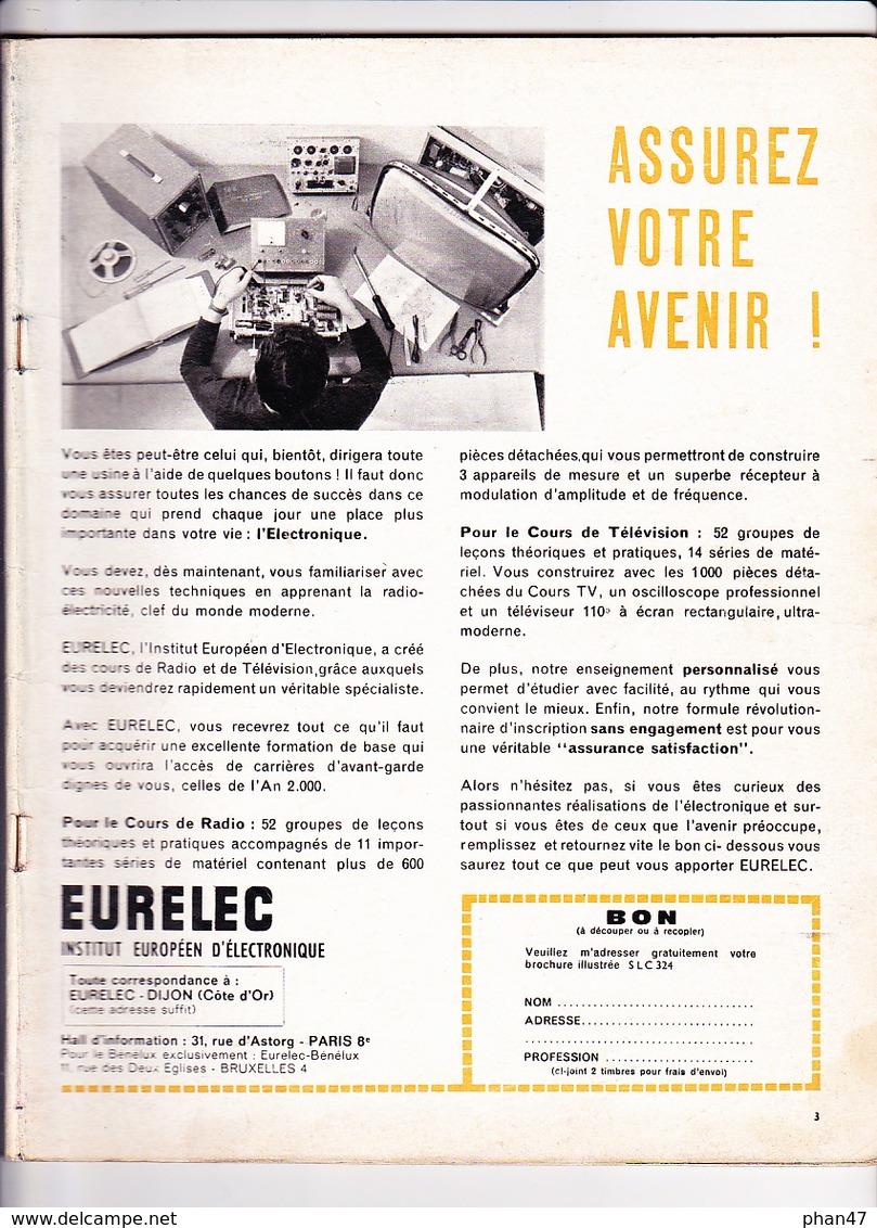 S.L.C. SALUT LES COPAINS N°5 / 12/1962  Manque Couv. Cliff Richard, Johnny, Petula, Brassens, James Dean, F. Hardy, Gene - Musique