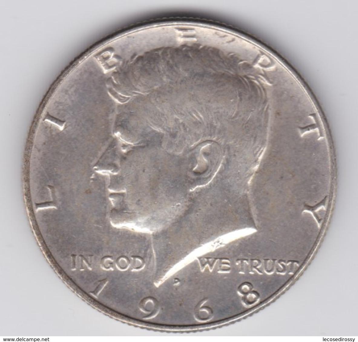 Rox 1968  Stati Uniti 1/2 Dollaro Kennedy - Federal Issues
