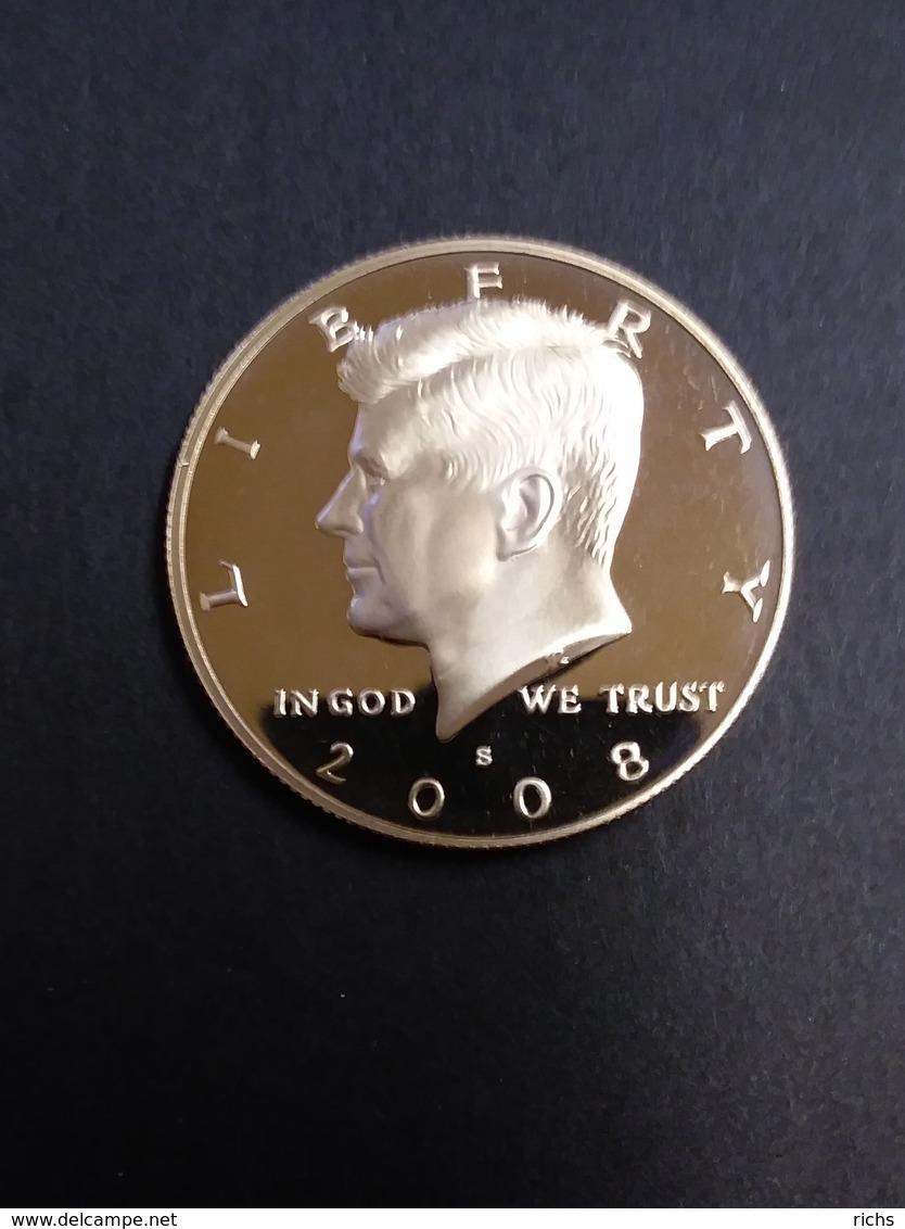 2008 S Proof Kennedy Half Dollar - 1964-…: Kennedy