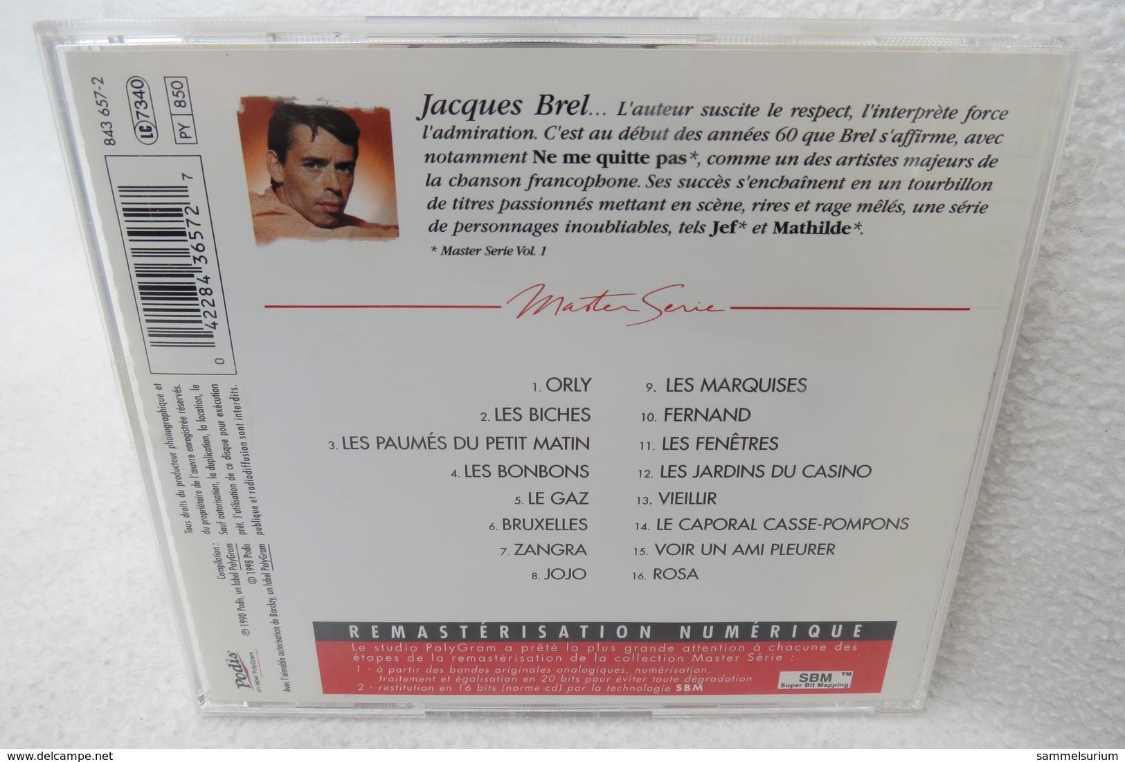 """CD """"Jacques Brel"""" Vol. 2, Master Serie - Musik & Instrumente"""