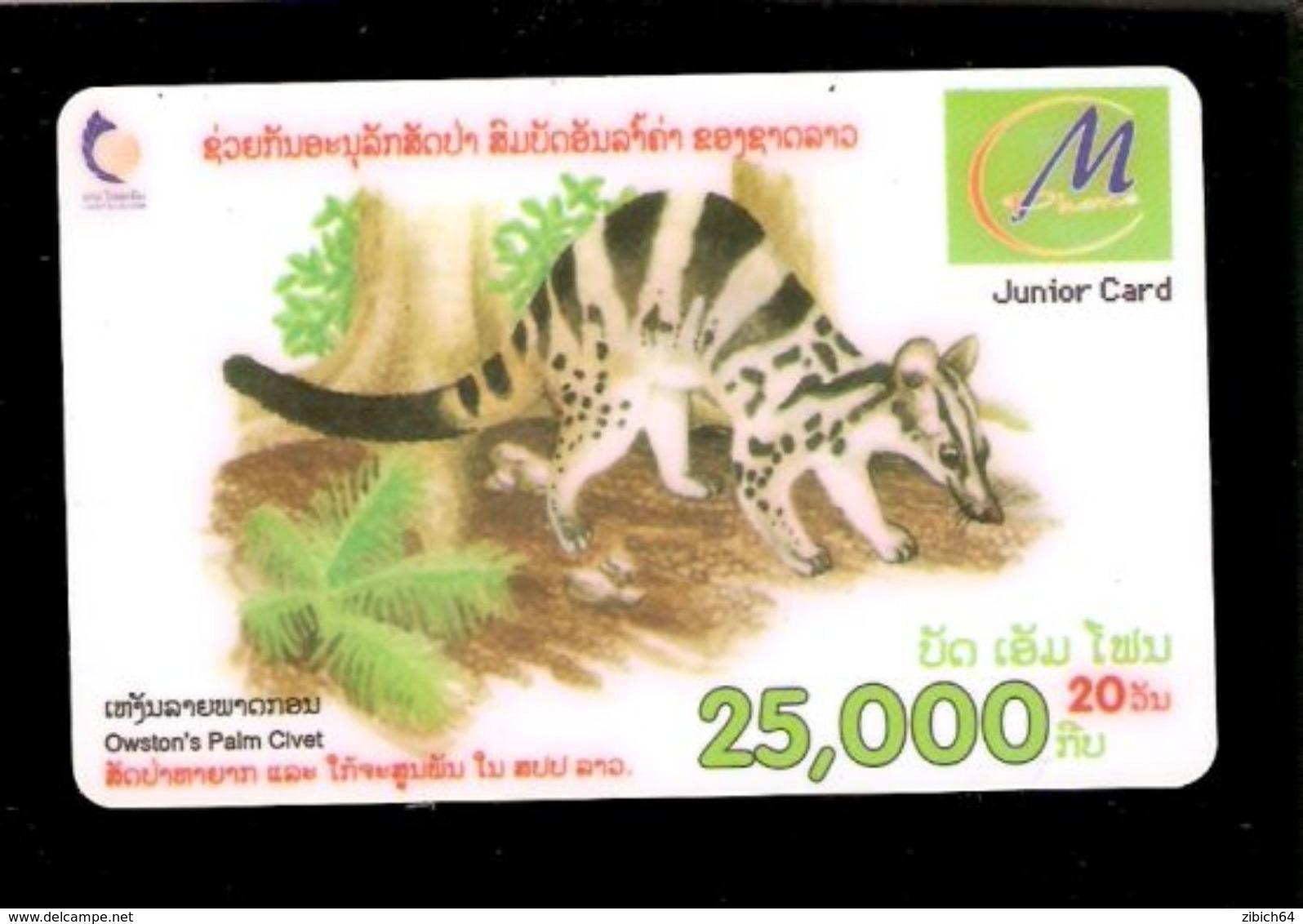 LAOS - Remote Phonecard - Laos