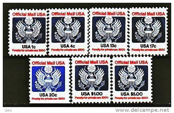 USA Se 98 / 104 Aigle Stylisé - Officials