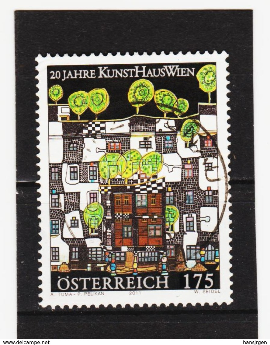 SAR1253  ÖSTERREICH  2011  Michl  2917 Used / Gestempelt SIEHE ABBILDUNG - 2011-... Gebraucht