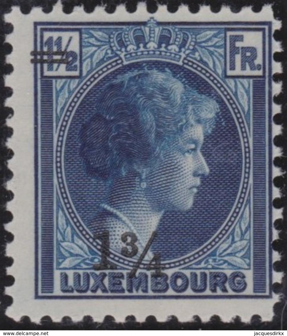 Luxembourg     .     Yvert  .    207     .     **    .          Postfris  .     /   .    MNH - Luxemburg