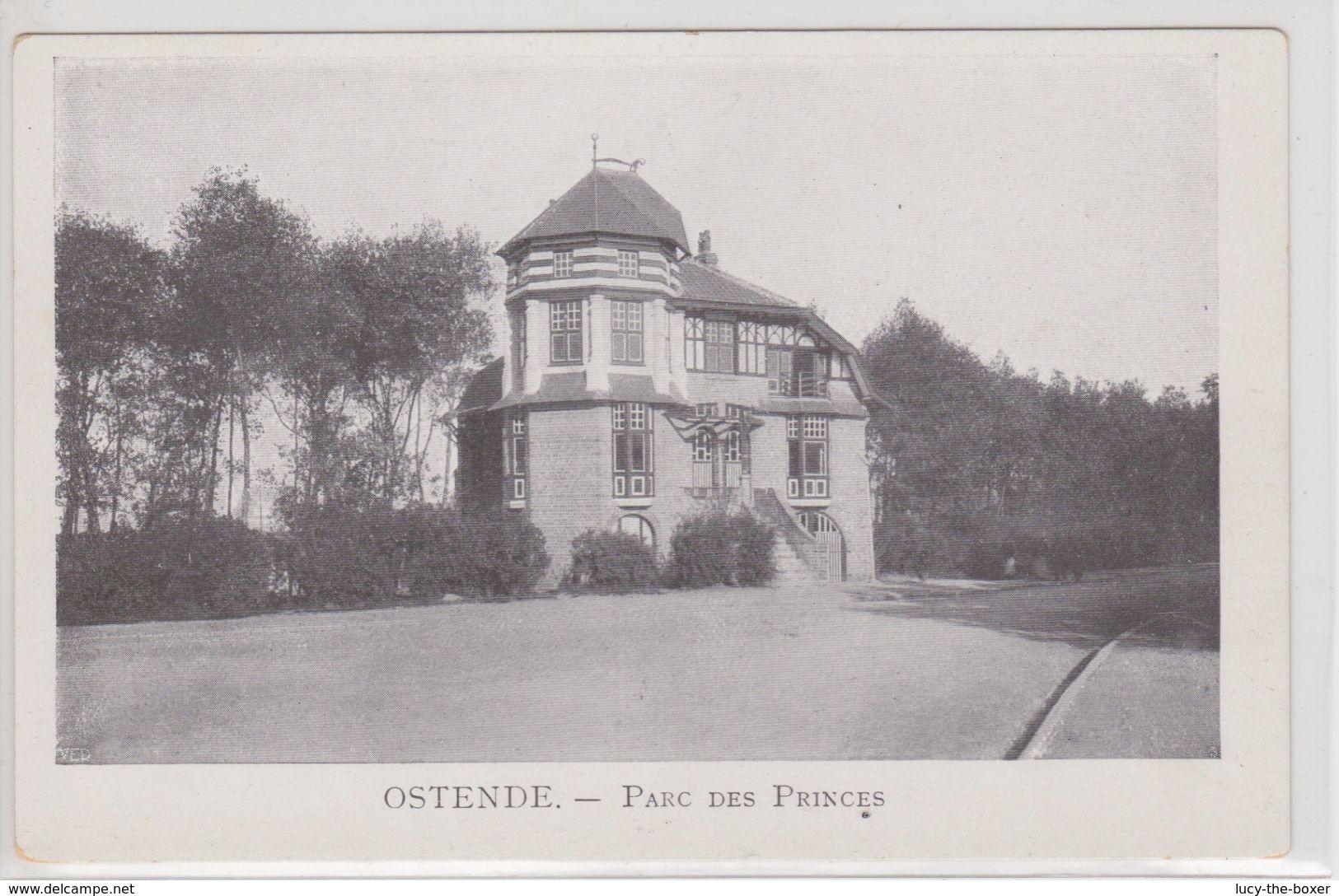 Ostende Parc Des Princes (clubhuis Roeiclub) - Oostende