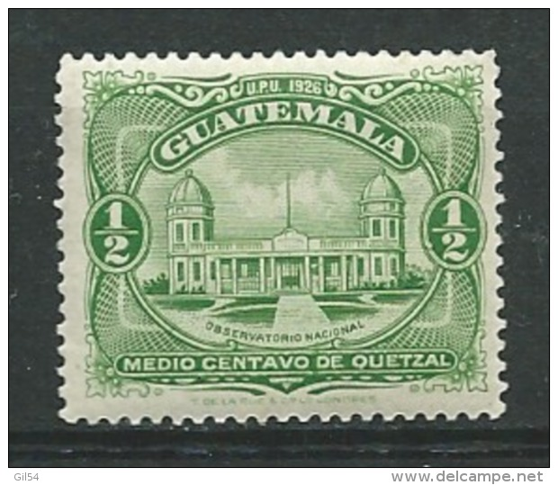 Guatemala   -  Yvert N°  231   *   - Ava 18120 - Guatemala