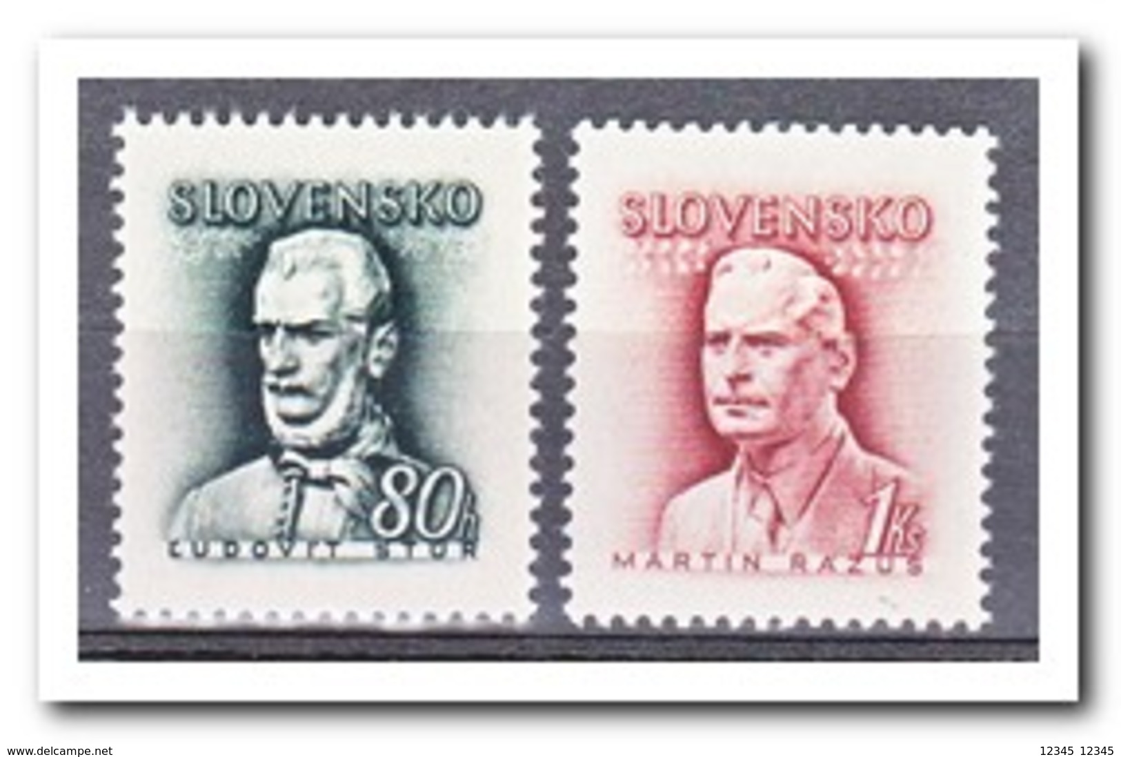Slowakije 1943, Postfris MNH, Persons - Unused Stamps