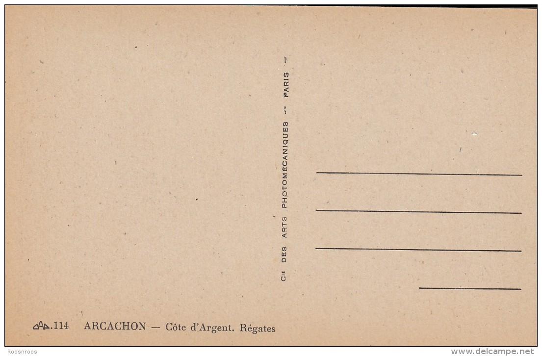 CP  ARCACHON 33 GIRONDE REGATES - Arcachon