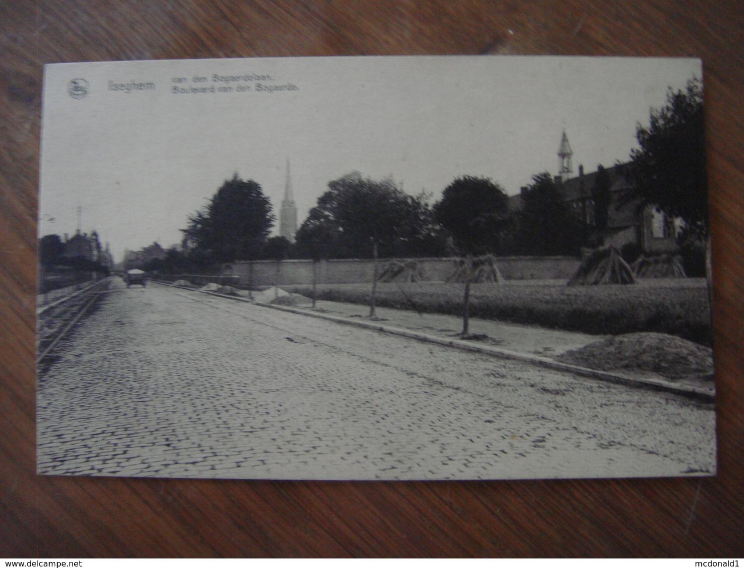 ISEGHEM ( IZEGEM ) --- Van Den Bogaerdelaan - Boulevard Van Den Bogaerde - Izegem