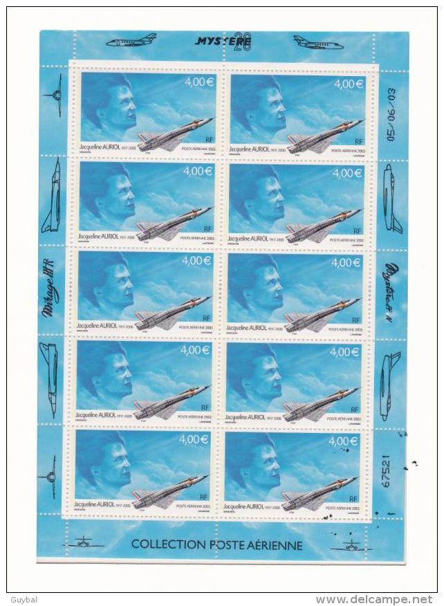 France Poste Aérienne 2003 - Feuillet F66b - Poste Aérienne