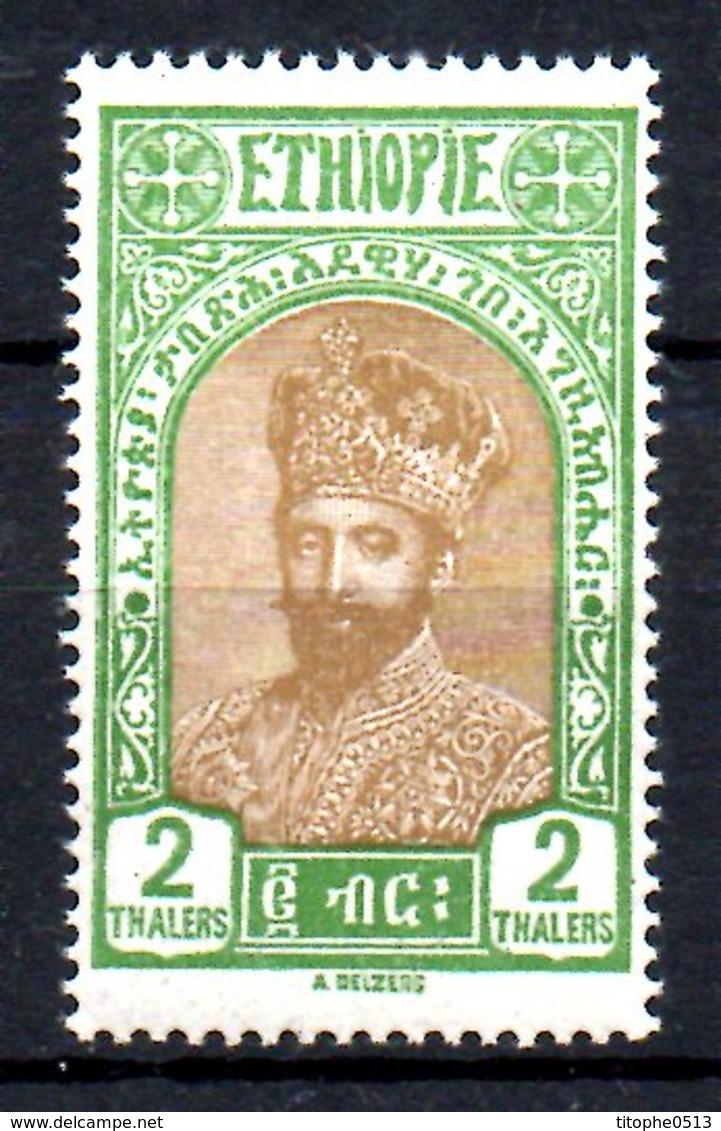 ETHIOPIE. N°154 De 1928. Ras Tafari. - Etiopía