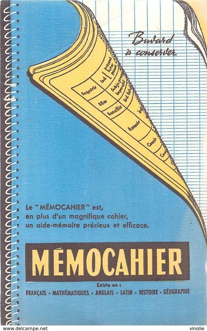 VP-GF.18-68 : BUVARD.  MEMOCAHIER. - Stationeries (flat Articles)