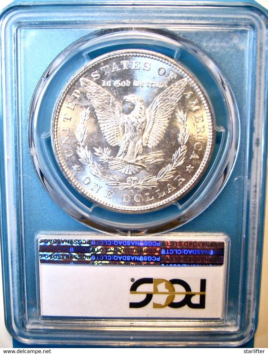 1880-S Morgan Silver Dollar. PCGS Certified MS64. M11. - Émissions Fédérales