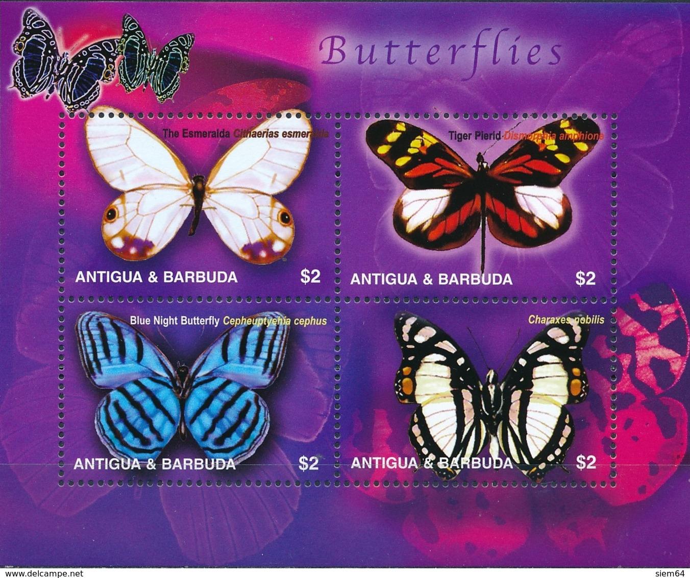 Antigua En Barbuda - Vlinders