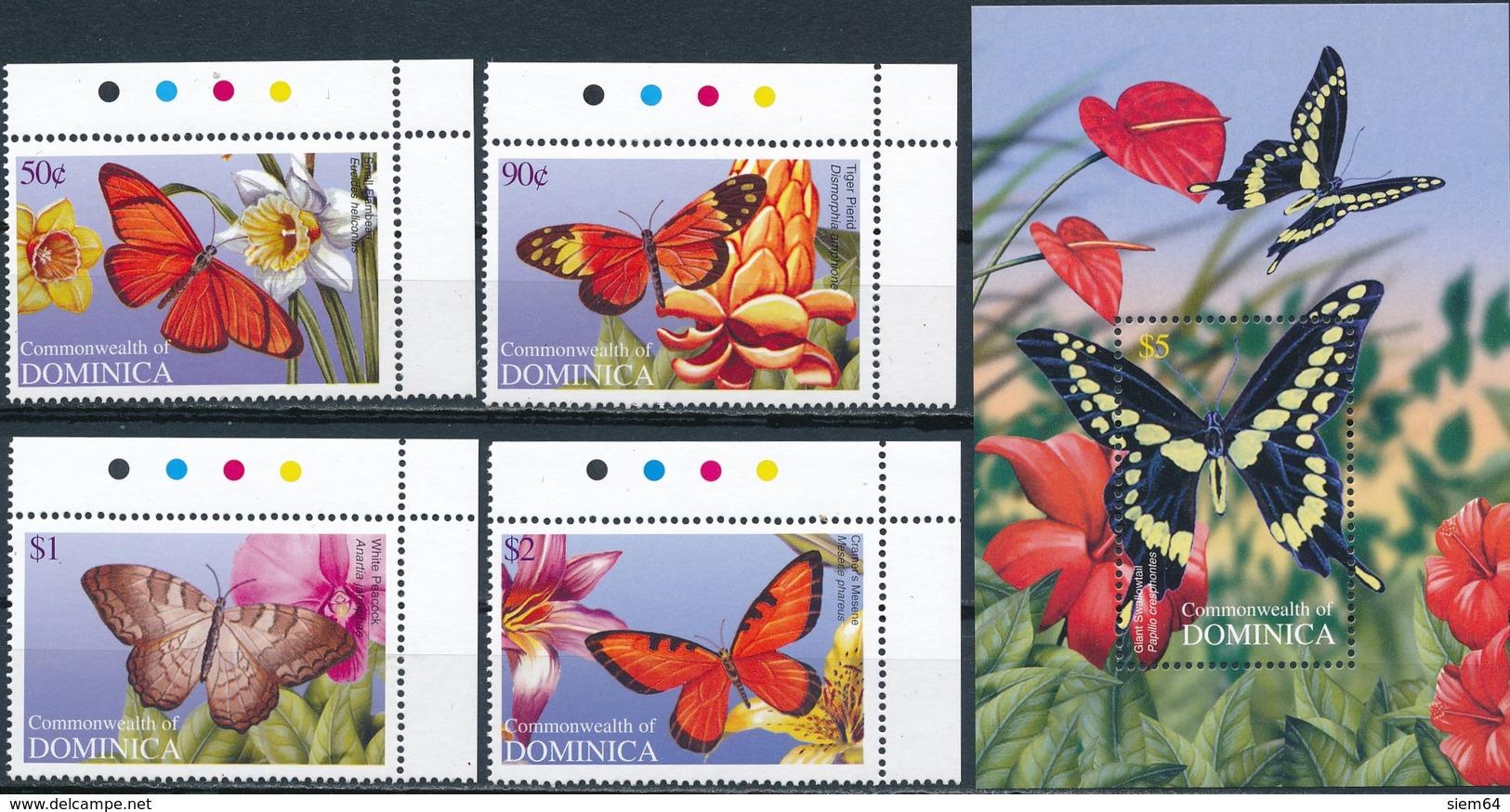 Dominica  Vlinders - Vlinders