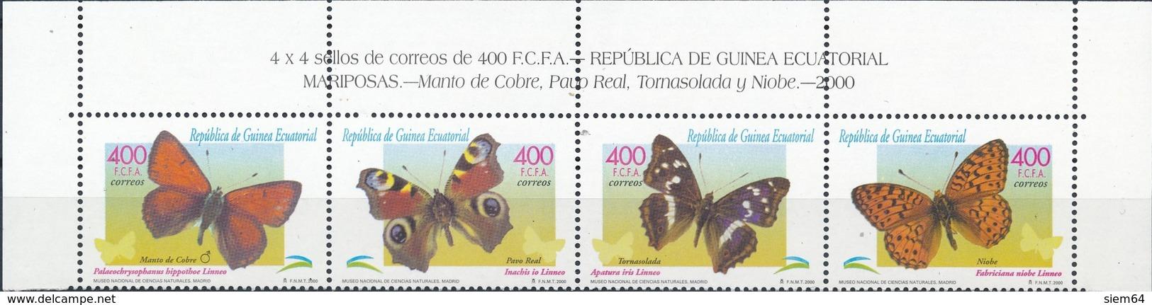 Equatorial-Guinee  Vlinders - Vlinders