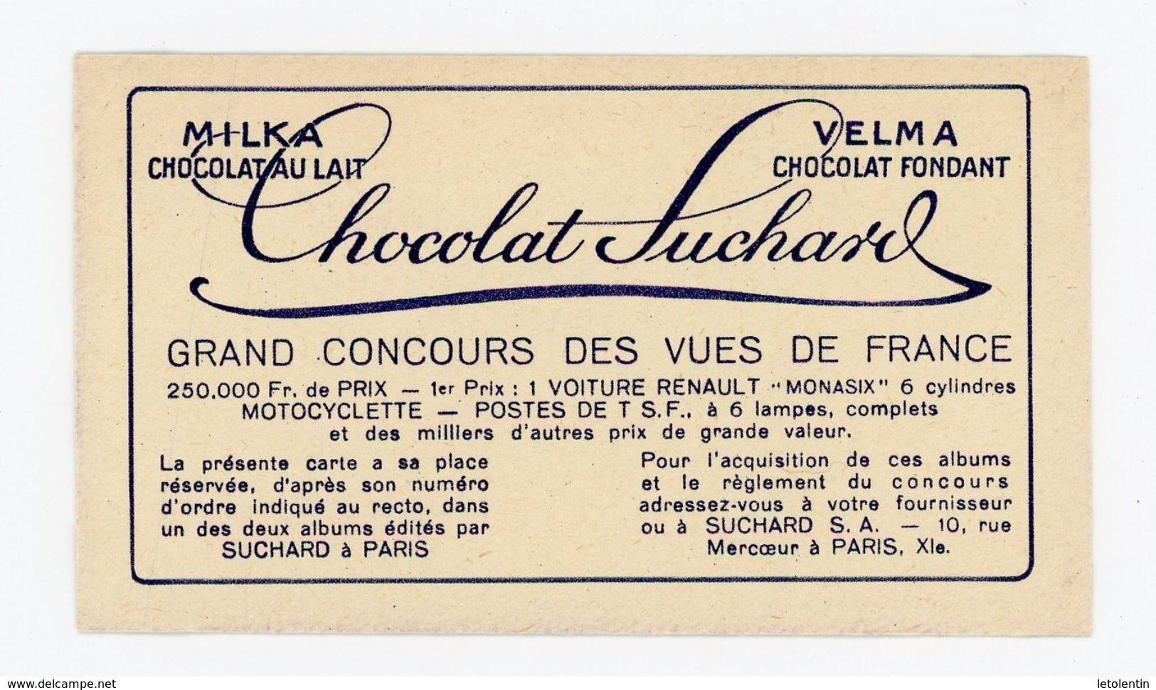 CHOCOLAT SUCHARD - VUES DE FRANCE - 372 - MORTAGNE, ROUTE DE PARIS ENTRÉE DE LA VILLE (ORNE) - Suchard