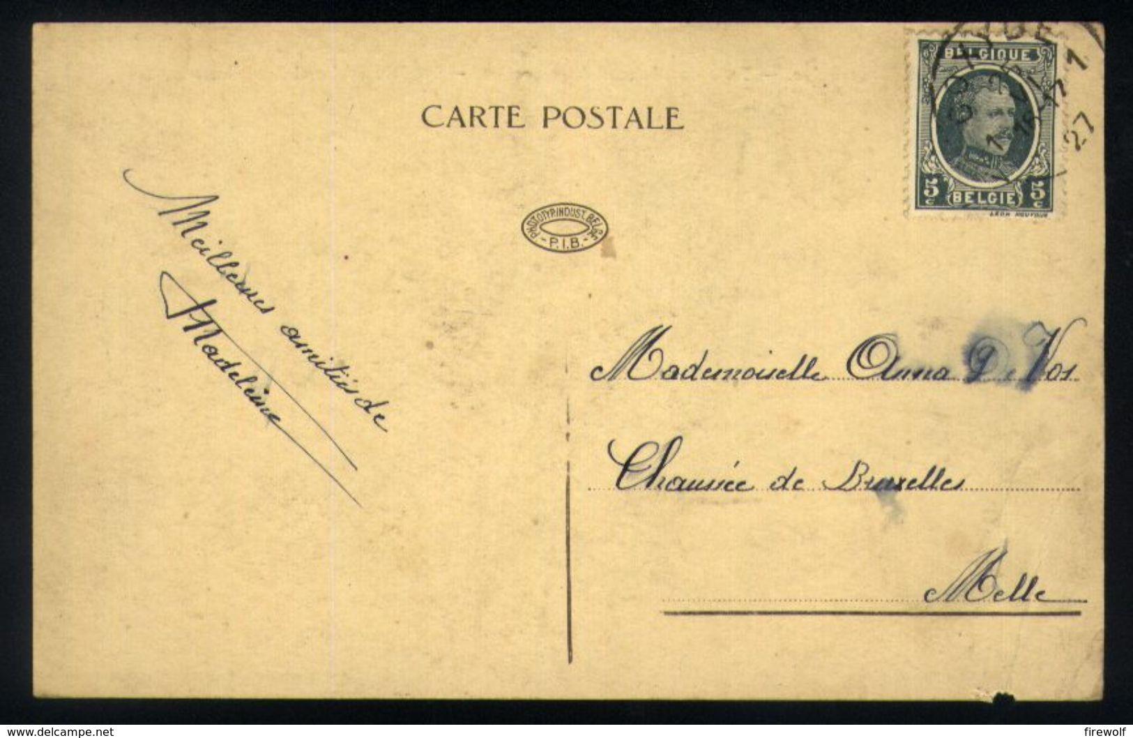 Z07 - Koksijde - La Plage Belge - Type De Pêcheur De Crevettes - Modèle Recherché Par Les Artistes - Used Coxyde 1927 - Koksijde