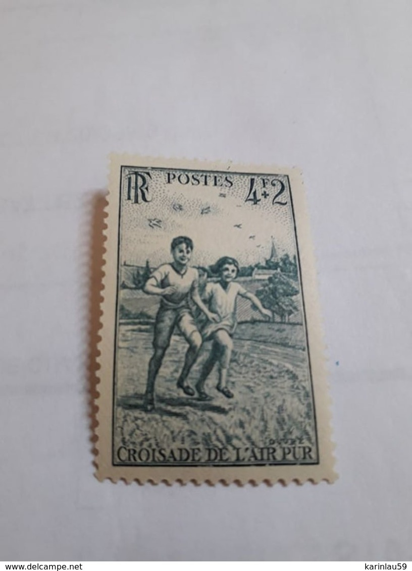 Timbre FRANCE 1945 - Y.T. N° 740 - NEUF Croisade De L'air Pur - Unused Stamps
